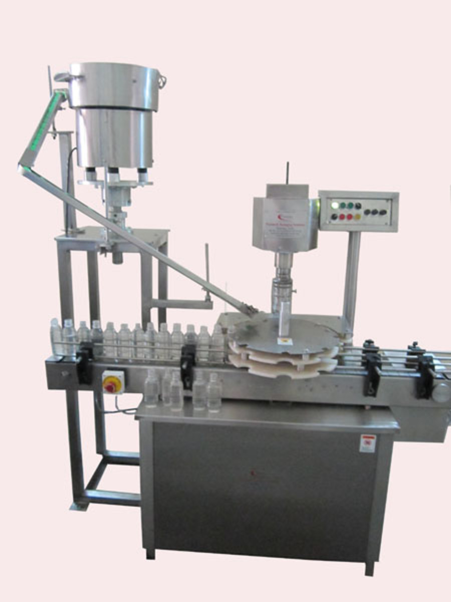 Automatic single head capping machine-2